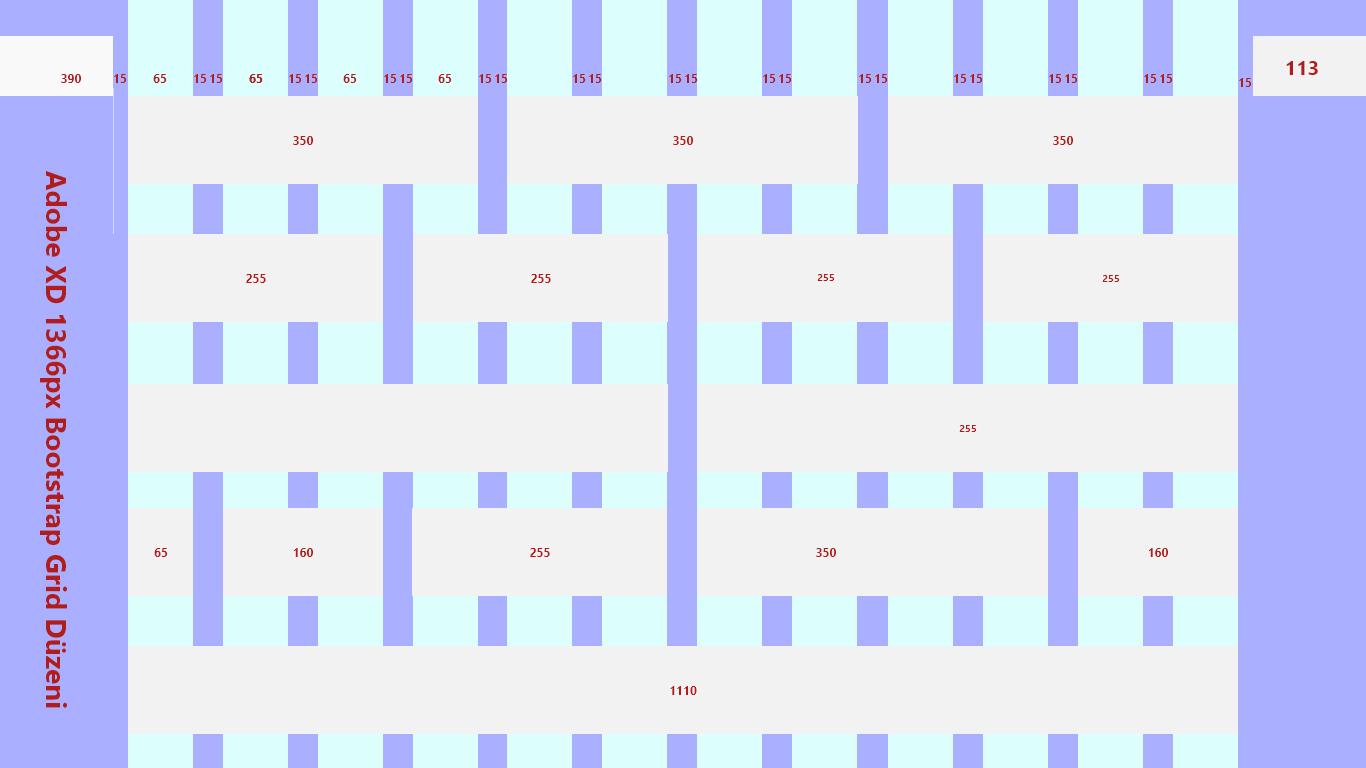 Adobe XD Bootstrap 4.6 Grid Düzeni Nasıl Yapılır
